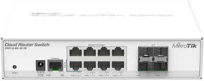 Маршрутизатор Mikrotik CRS112-8G-4S-IN