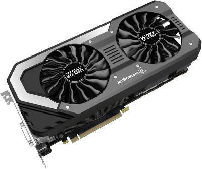 Видеокарта PCI-E NVIDIA GeForce GTX 1080Ti 11264MB GDDR5 Palit Jetstream [NEB108T015LC-1020J]