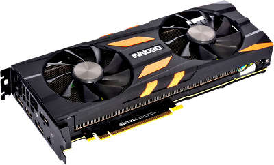Видеокарта Inno3D nVidia GeForce RTX 2080 X2 OC 8Gb GDDR6 PCI-E HDMI, 3DP