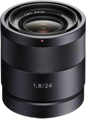 Объектив Sony Carl Zeiss Sonnar T* E 24 мм F1.8 ZA для NEX [SEL-24F18Z]