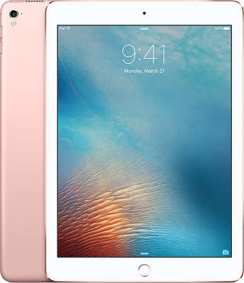 "Планшетный компьютер Apple iPad Pro 9.7"" [MLYM2RU/A] 256GB Wi-Fi + Cell Rose Gold"