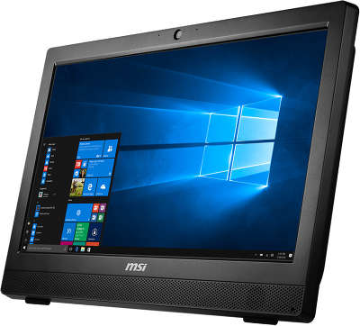 "Моноблок MSI Pro 24 7M-055RU 23.6"" Full HD i3-7100/8/1000/HDG/Multi/WF/CAM/DOS/Kb+Mouse, черный"