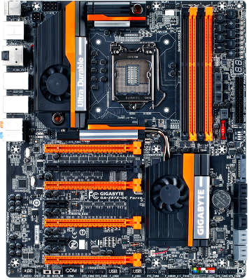 Мат. плата GIGABYTE GA-Z87X-OC FORCE