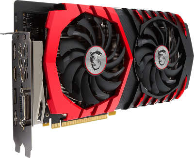 Видеокарта PCI-E NVIDIA GeForce GTX 1060 3072MB GDDR5 MSI [GTX 1060 GAMING 3G]