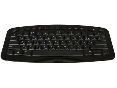Клавиатура USB Microsoft Retail Arc Keyboard Black (J5D-00014)<wbr>