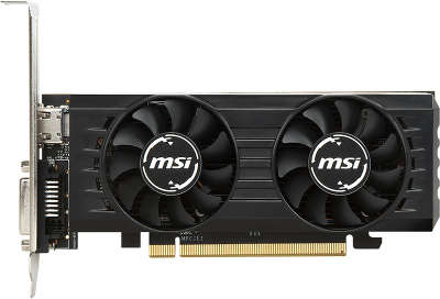 Видеокарта MSI AMD Radeon RX 550 4GT LP OC 4Gb DDR5 PCI-E DVI, HDMI