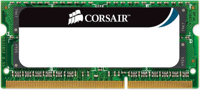 Модуль памяти SO-DIMM DDR-III 8192 Mb DDR1333 Corsair [CMSO8GX3M1A1333C9]