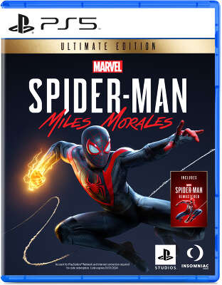 Игра MARVEL Человек-Паук: Майлз Моралес Ultimate Edition [PS5, русская версия]