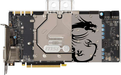 Видеокарта PCI-E NVIDIA GeForce GTX 1070 8192MB GDDR5 MSI [GTX 1070 SEA HAWK EK X]