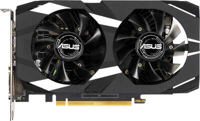 Видеокарта ASUS nVidia GeForce GTX1650 Dual 4Gb DDR5 PCI-E DVI, HDMI, DP