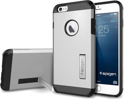 Чехол Spigen SGP Touch Armor для iPhone 6 Plus/<wbr>6S Plus, Satin Silver [SGP10917]