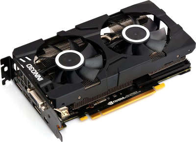 Видеокарта Inno3D nVidia GeForce RTX 2070 Twin X2 8Gb GDDR6 PCI-E DVI, HDMI, 2DP