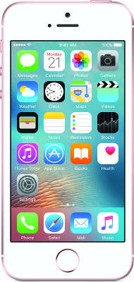 Смартфон Apple iPhone SE [MLXN2RU/A] 16 GB rose gold