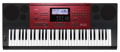 Синтезатор Casio CTK-6250 61клав. красный