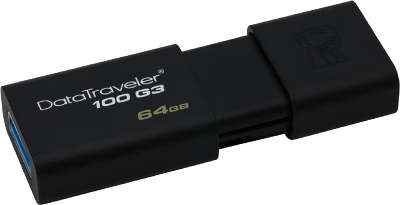 Модуль памяти USB3.0 Kingston DT100G3 64 Гб [DT100G3/<wbr>64GB]