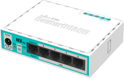 Маршрутизатор Mikrotik hEX lite 5x10/100 Mbps RB750r2