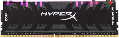 Модуль памяти DDR4 DIMM 16Gb DDR3200 Kingston HyperX Predator RGB (HX432C16PB3A/16)