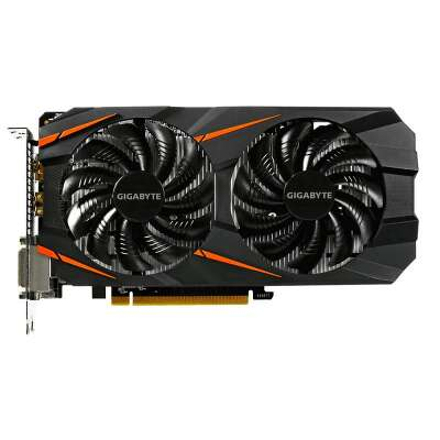 Видеокарта GIGABYTE nVidia GeForce GTX 1060 6Gb DDR5 PCI-E 2DVI, HDMI, DP