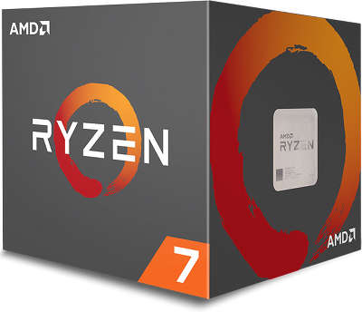 Процессор AMD RYZEN 7 2700X (3.7GHz) AM4 BOX