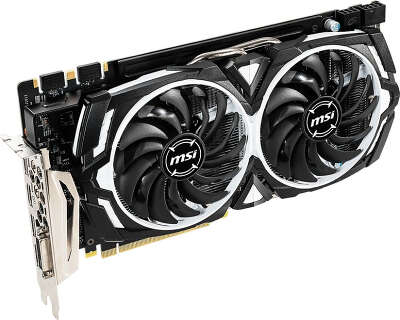 Видеокарта MSI nVidia GeForce GTX1060 ARMOR 6GD5X OC 6Gb DDR5X PCI-E DVI, HDMI, 3DP