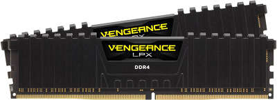 Набор памяти DDR4 2x4096Mb DDR3000 Corsair CMK8GX4M2B3000C15 RTL PC4-22400 CL14 DIMM 288-pin 1.35В