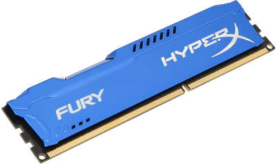 Модуль памяти DDR-III DIMM 8192Mb DDR1866 Kingston HyperX Fury Blue [HX318C10F/8]