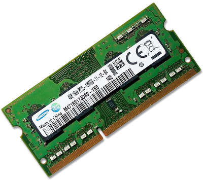 Модуль памяти SO-DIMM DDR-III 4096 Mb DDR1600 Samsung Original 1.35V