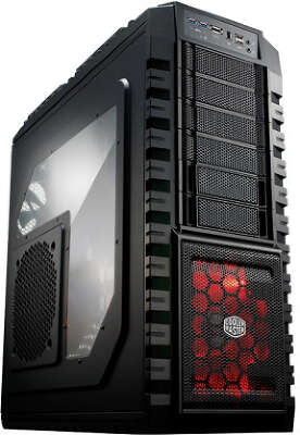 Корпус Cooler Master HAF X, Window, черный, EATX, без БП (RC-942-KKN1)