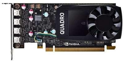 Видеокарта PNY Quadro P600 2Gb DDR5 PCI-E 4miniDP