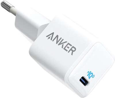Зарядное устройство Anker PowerPort 3 20W USB-C, White [A2633G22]