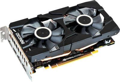 Видеокарта Inno3D nVidia GeForce GTX1660Ti Twin X2 6Gb GDDR6 PCI-E HDMI, 3DP