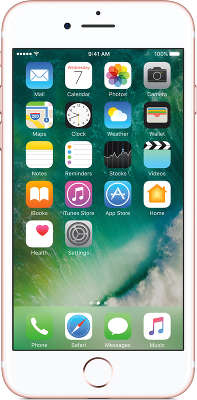 Смартфон Apple iPhone 7 [MN912RU/<wbr>A] 32 GB rose gold
