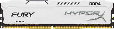 Модуль памяти DDR4 DIMM 16384Mb DDR3200 Kingston HyperX Fury White (HX432C18FW/16)