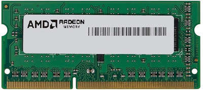 Модуль памяти SO-DIMM DDR-III 4096 Mb DDR1600 AMD [R534G1601S1S-UGO]