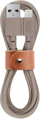 Кабель Native Union Lightning Belt Beige, 1.2 м [BELT-L-TAU-2]