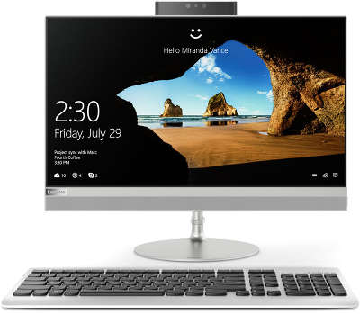 "Моноблок Lenovo IdeaCentre 520-22IKU 21.5"" Full HD i3-6006U/4/1000/HDG520/Multi/WF/BT/CAM/W10/Kb+Mouse, серебр"