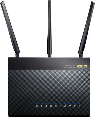 Tочка доступа/Маршрутизатор IEEE802.11ac Asus RT-AC68U