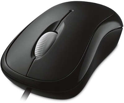 Мышь Microsoft Retail Basic Optical Mouse USB Black