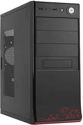Корпус ATX ACCORD A-80B Black без БП
