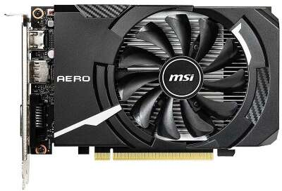 Видеокарта MSI nVidia GeForce GTX1650 AERO ITX 4G 4Gb DDR5 PCI-E DVI, HDMI, DP