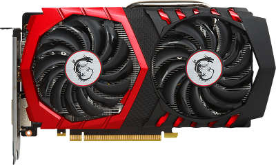 Видеокарта PCI-E NVIDIA GeForce GTX 1050TI 4096MB GDDR5 MSI [GTX 1050 TI GAMING 4G]