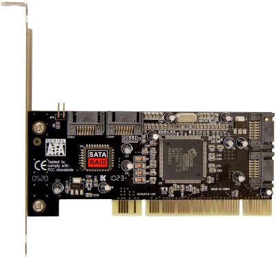 Контроллер * PCI SATA 4-port +RAID bulk