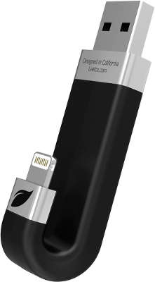 Модуль памяти Leef iBridge with Lightning 64 ГБ, Black [LIB000KK064R6]