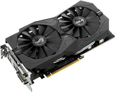 Видеокарта Asus PCI-E STRIX-GTX1050TI-4G-GAMING nVidia GeForce GTX 1050TI 4096Mb 128bit GDDR5