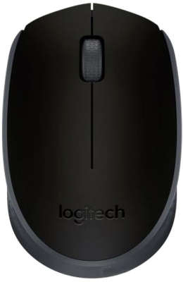 Мышь беспроводная Logitech Wireless Mouse M171 Black USB (910-004424)