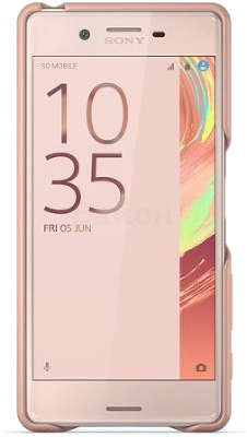 Чехол Sony Style Cover SBC22 для Sony Xperia X, Rose Gold
