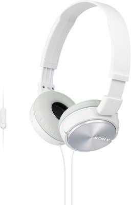 Гарнитура Sony MDR-ZX310AP, белая