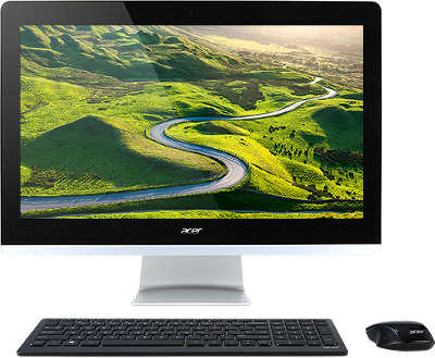 Моноблок Acer Aspire Z3-715 23.8&quot; i3-7100T/<wbr>8/<wbr>1000/<wbr>GF940M 2Gb/<wbr>DVDRW/<wbr>CR/<wbr>WiFi/<wbr>BT/<wbr>CAM/<wbr>W10/<wbr>Kb+Mouse, черный