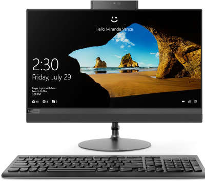 Моноблок Lenovo IdeaCentre 520-22IKU 21.5&quot; Full HD i3-6006U/<wbr>8/<wbr>1000/<wbr>Multi/<wbr>WF/<wbr>BT/<wbr>CAM/<wbr>W10/<wbr>Kb+Mouse, черный