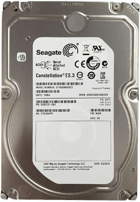 Жёсткий диск SAS 2.0 1TB [ST1000NM0023] Seagate Constellation ES.3, 7200rpm, 128MB Cache